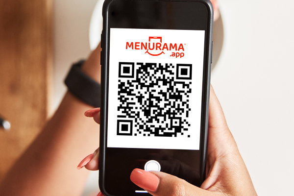 Menú digital con código QR
